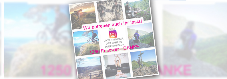 Instagram. Danke f�r 1200 Follower