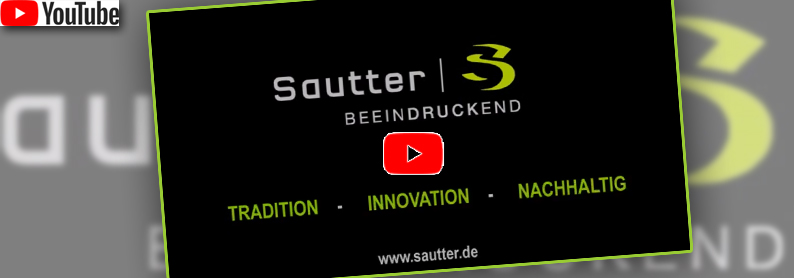 Neues Youtube Video Sautter GmbH